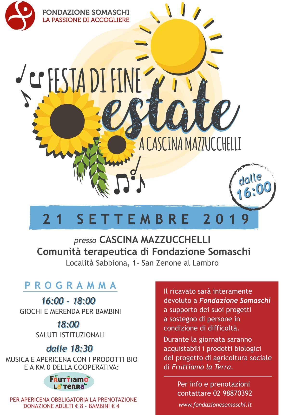 festa di fine Estate San Zenone