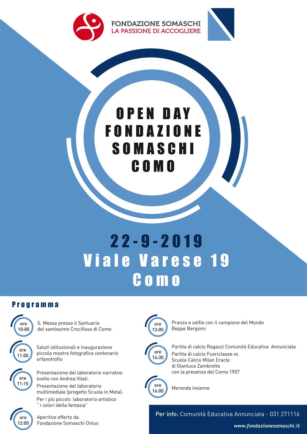 Open Day della Comunità per minori l'Annunciata di Como